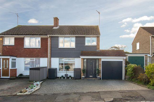 Semi-detached house for sale in Langdale Close, Dunstable, Bedfordshire