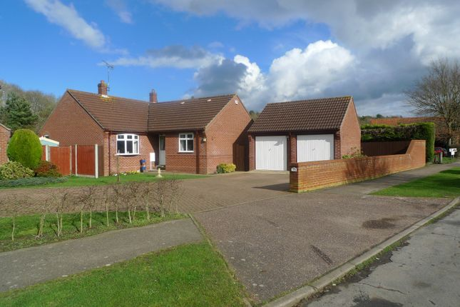 Thumbnail Detached bungalow for sale in Main Road, North Burlingham