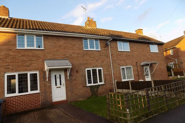 Thumbnail Terraced house to rent in The Uplands, Great Haywood, Stafford