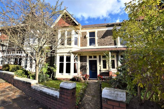 Thumbnail Terraced house for sale in Waterloo Road, Penylan, Cardiff.
