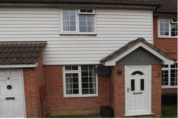 Thumbnail Terraced house to rent in Rowan Close, Heathfield