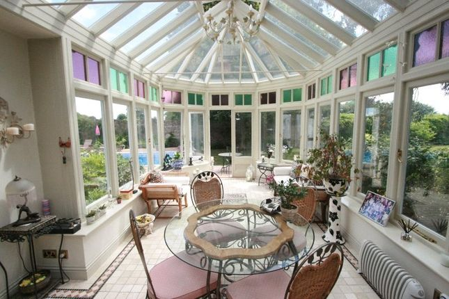 Conservatory of Bagatelle Road, St. Saviour, Jersey, Channel Isles JE2
