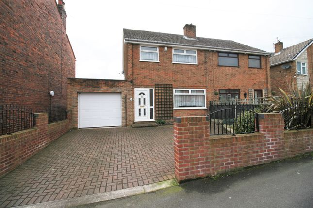 Thumbnail Semi-detached house for sale in Wellington Street, New Whittington, Chesterfield