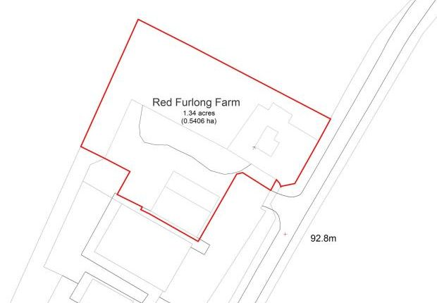 Site Plan of Poundon, Bicester OX27