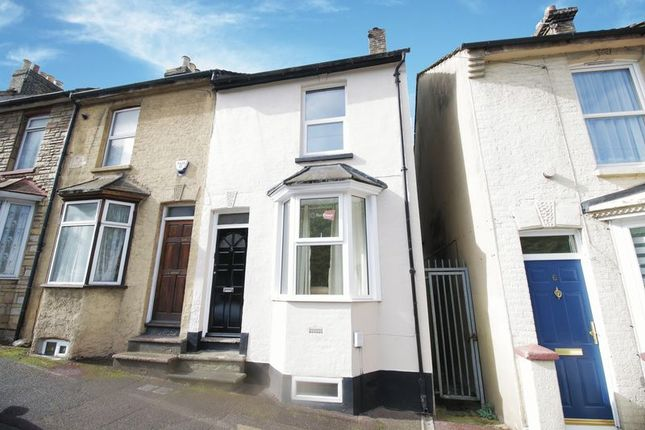 Thumbnail Terraced house to rent in Seymour Road, Chatham