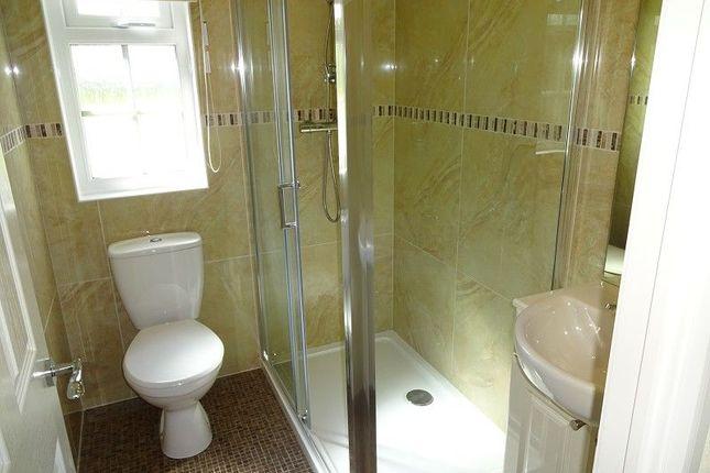 Shower Room of Dinwoodie Lodge Park Johnstonebridge, Lockerbie, Dumfriesshire. DG11