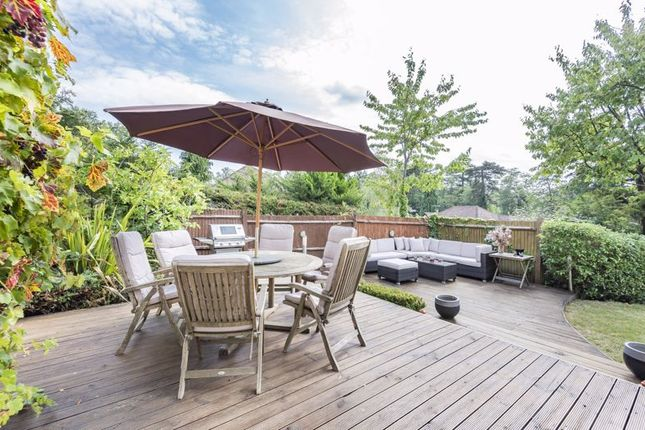 Decking With BBQ Area