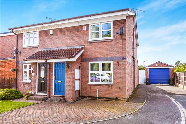 Thumbnail Semi-detached house for sale in Hunters Green, Dinnington, Sheffield