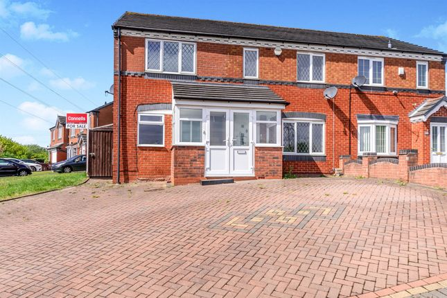 Thumbnail Semi-detached house for sale in Norfolk New Road, Walsall