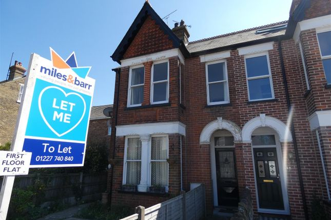 Thumbnail Flat to rent in Queens Road, Tankerton, Whitstable