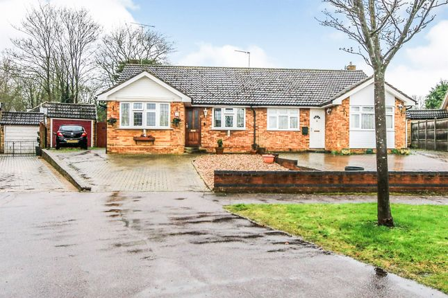 Thumbnail Semi-detached bungalow for sale in Coxs Close, Sharnbrook, Bedford
