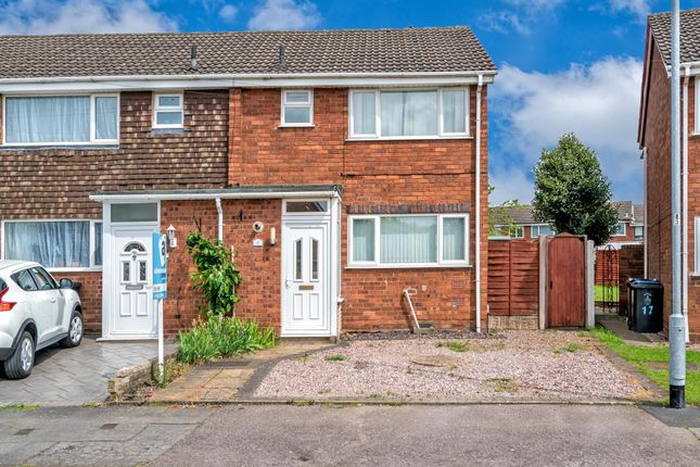 Thumbnail End terrace house to rent in Summerfield Road, Chasetown, Burntwood
