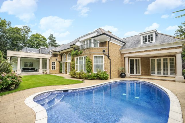 Thumbnail Detached house to rent in Rodona Road, St. Georges Hill, Weybridge