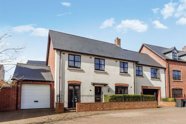 5 bed link-detached house for sale in Yewtree Moor, Lawley Village, Telford, Shropshire