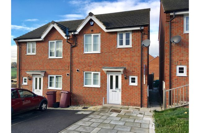 Thumbnail Semi-detached house for sale in East Street, Doe Lea, Chesterfield