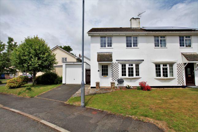 Thumbnail Semi-detached house to rent in Gratton Drive, Chillington, Kingsbridge