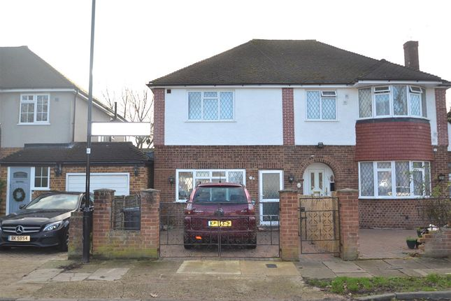 Thumbnail Semi-detached house for sale in Pates Manor Drive, Bedfont, Feltham