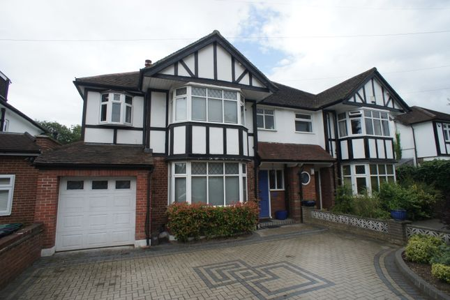 Thumbnail Semi-detached house for sale in Longland Drive, Totteridge
