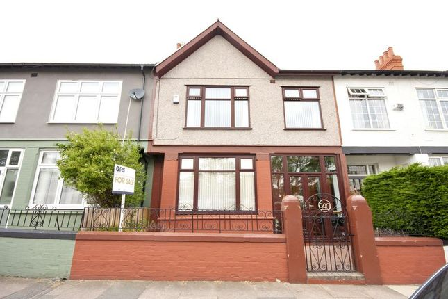 Thumbnail Terraced house for sale in Park Road North, Birkenhead