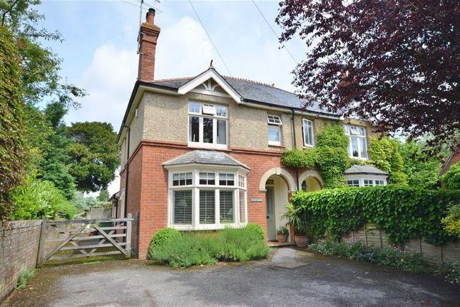 Thumbnail Semi-detached house for sale in Dippenhall Street, Crondall, Farnham