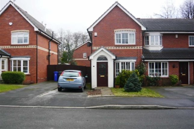 Thumbnail Terraced house to rent in Harrier Close, Manchester