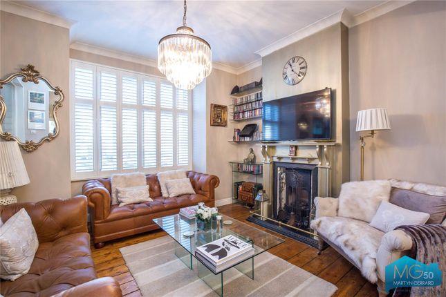 Thumbnail End terrace house for sale in Brendon Villas, Highfield Road, London