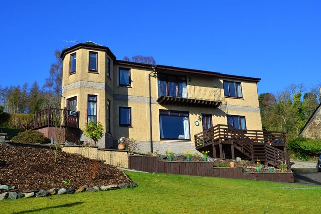 Thumbnail Flat for sale in Back Road, Clynder, Argyll & Bute