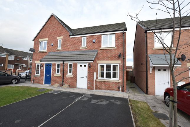 Thumbnail Semi-detached house to rent in St Gabriel Court, Leeds, West Yorkshire