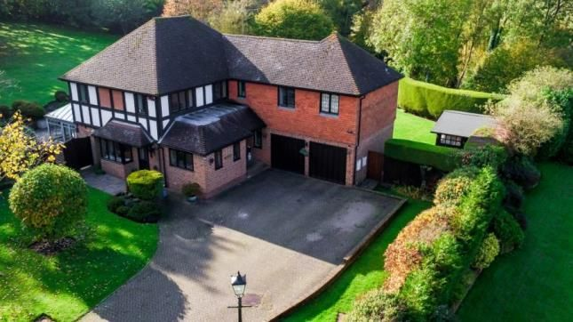 Thumbnail Detached house for sale in Lambardes Close, Pratts Bottom, Orpington