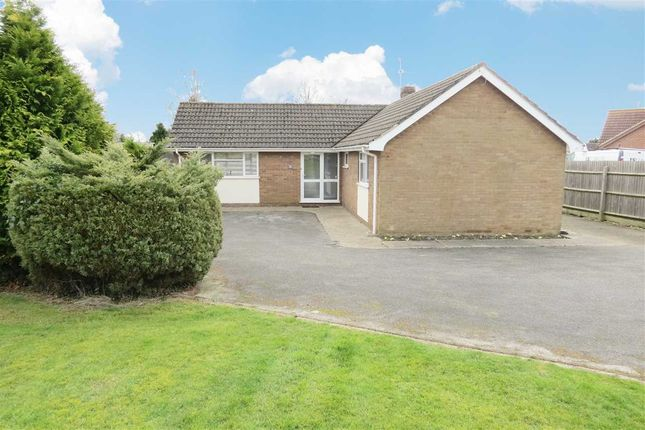 Thumbnail Detached bungalow for sale in Hawthorn Drive, Fen Road, Billinghay, Lincoln