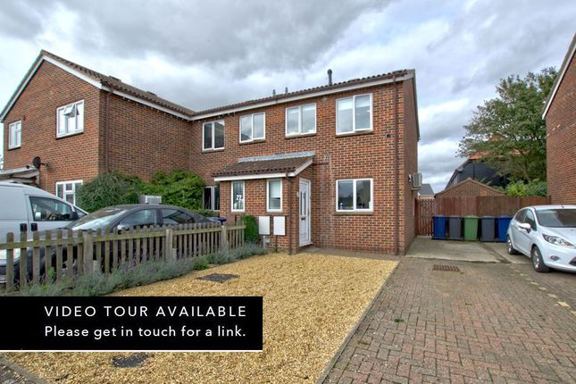 Thumbnail End terrace house for sale in The Pastures, Hardwick, Cambridge