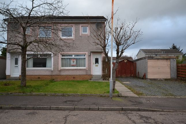 Thumbnail Semi-detached house to rent in Goldenberry Avenue, West Kilbride, North Ayrshire