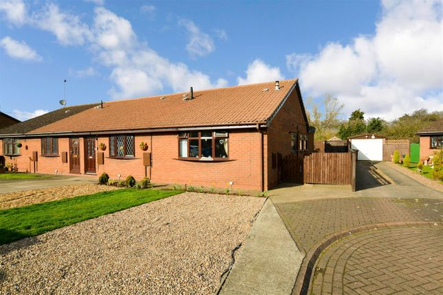 2 bed semi-detached bungalow for sale in Wharfdale Close, Gunness, Scunthorpe DN15