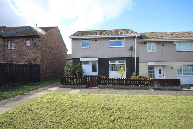 Thumbnail Terraced house to rent in Bamburgh Drive, Ormesby, Middlesbrough