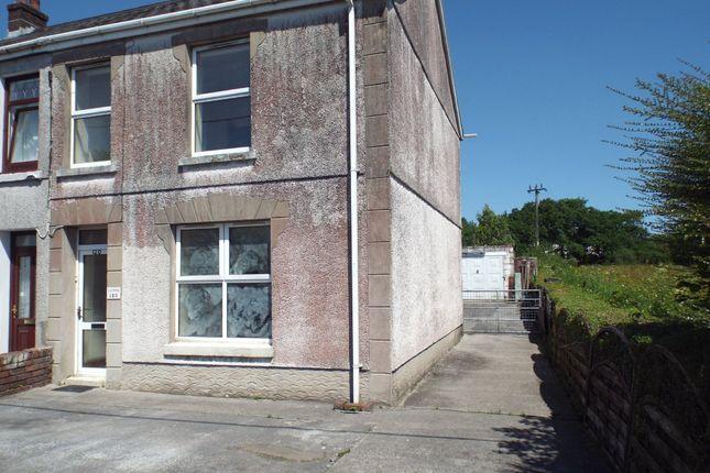 Thumbnail Semi-detached house for sale in Carmarthen Road, Cross Hands, Llanelli