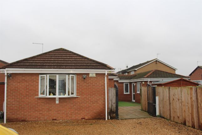 Thumbnail Detached bungalow for sale in Fulbridge Road, Peterborough