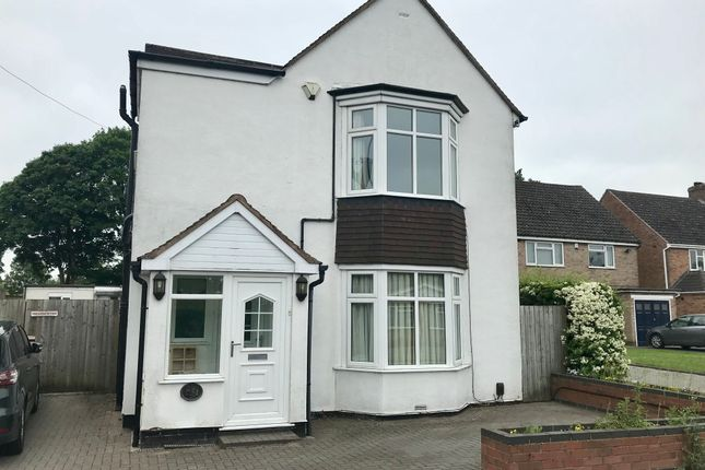 Thumbnail Detached house for sale in Blackford Road, Shirley, Solihull