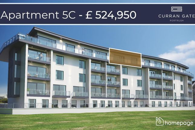Thumbnail Property for sale in Penthouse 5C, Curran Gate, Portrush