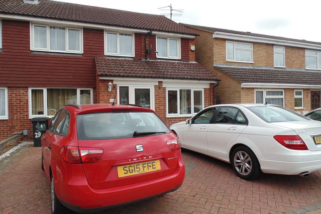 Thumbnail Semi-detached house for sale in Farnham Drive, Rushden