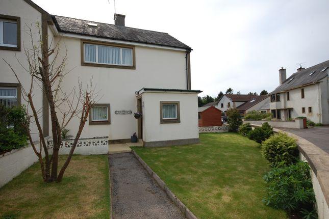 Thumbnail Semi-detached house for sale in Fleurs Place, Elgin