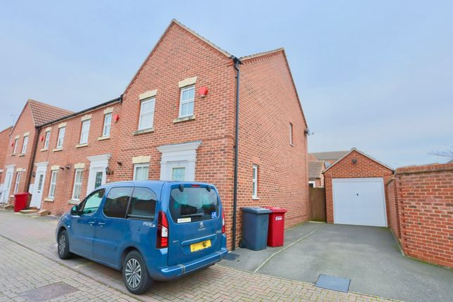 Thumbnail End terrace house to rent in Sharman Row, Slough