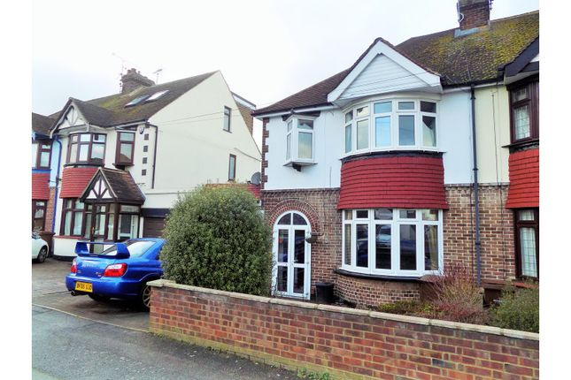 Thumbnail Semi-detached house for sale in Priory Road, Gillingham