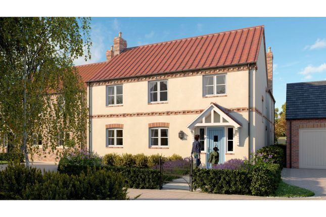 Thumbnail Detached house for sale in Brindley Grove, Sutton Cum Lound