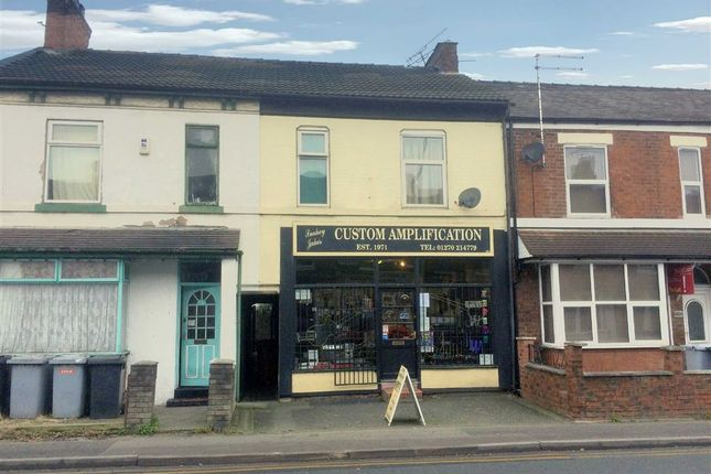 Retail premises for sale in Edleston Road, Crewe, Cheshire