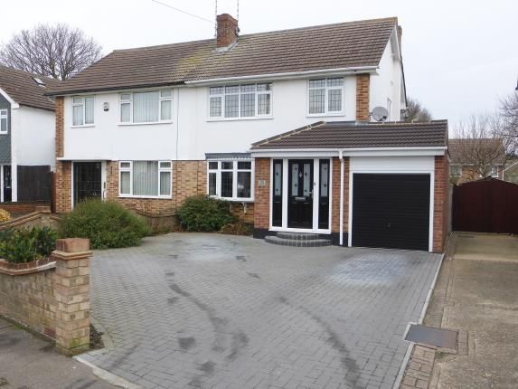 Thumbnail Semi-detached house for sale in Thundersley, Benfleet, Essex