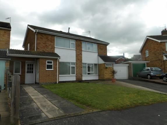 Thumbnail Semi-detached house for sale in Greensward, East Goscote, Leicester, Leicestershire