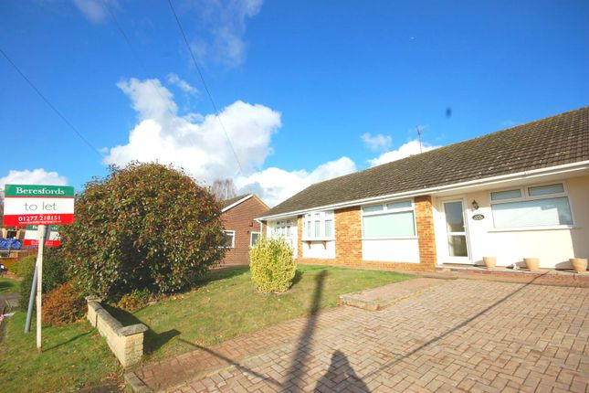 2 bed semi-detached bungalow to rent in Oakland Gardens, Hutton, Brentwood, Essex CM13