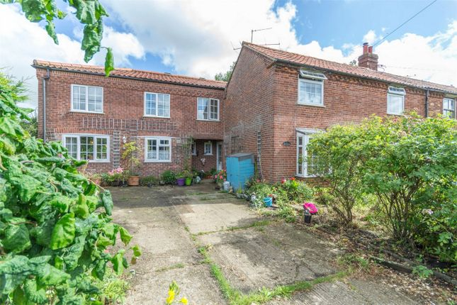 Thumbnail Semi-detached house for sale in School Road, Colkirk, Fakenham