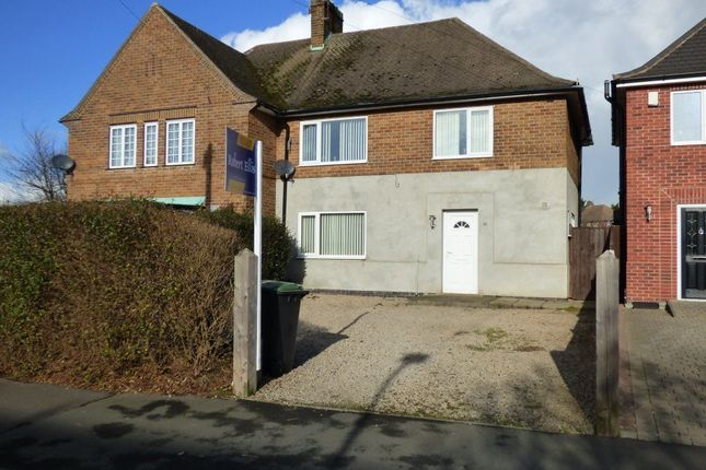 Thumbnail Semi-detached house to rent in New Eaton Road, Stapleford, Nottingham