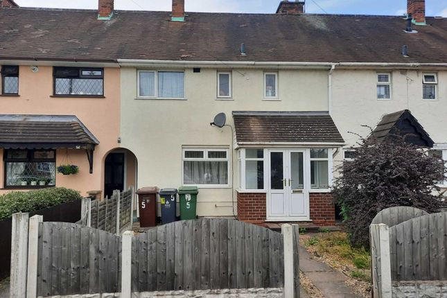 3 bed terraced house to rent in Fleming Road, Walsall WS2